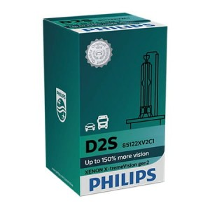 Philips D2S X-tremeVision 85V35W P32d-2 C1